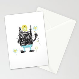 Black cats dig velour! Stationery Cards