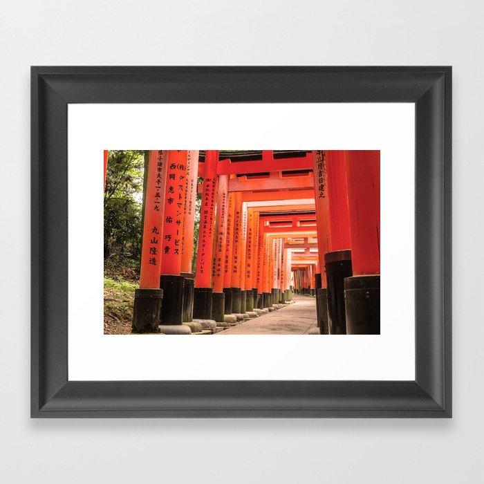 Kyoto Japan Framed Art Print