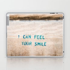 I Can Feel Your Smile Laptop & iPad Skin