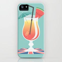 Mit Schrim, Charme und Melone iPhone Case