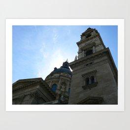 St. Peter's Basilica, Budapest 2011 Art Print