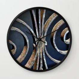 Iron at the Crypt Wall Clock