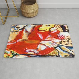 Marc Chagall To My Betrothed Rug