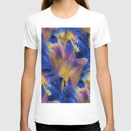 Pheasant Feathers Abstract T-shirt