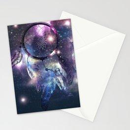 Cosmic Dreamcatcher design Stationery Cards