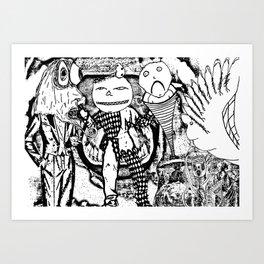 awake inside a dream Art Print