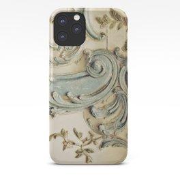 Blue Lace of Versailles iPhone Case