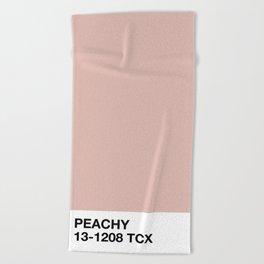 peachy Beach Towel