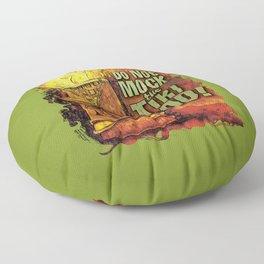Do Not Mock The Tiki God! Floor Pillow