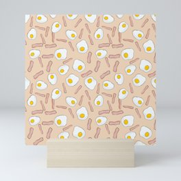 Eggs and bacon Mini Art Print
