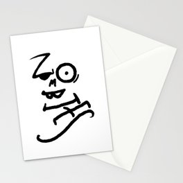 Zombies Stationery Cards
