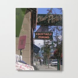 Downtown Anchorage Metal Print