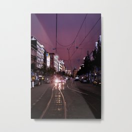 Mannheim City Metal Print