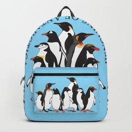 Penguins of Antarctica (vertical) Backpack
