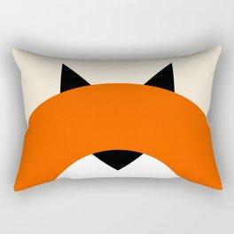 A Most Minimalist Fox Rectangular Pillow