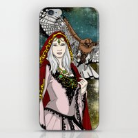 goddess iPhone & iPod Skins featuring Goddess by Astrablink7