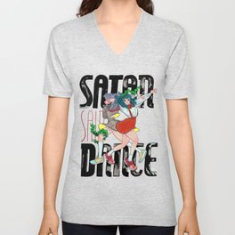 SATAN SAID DANCE Unisex V-Neck