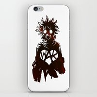 war iPhone & iPod Skins featuring WAR by Lukas Stobie