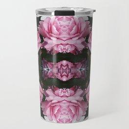 Rorschach Roses Travel Mug