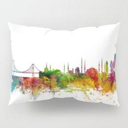 Istanbul Turkey Skyline Pillow Sham