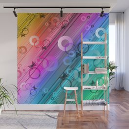 Geometrical Abstraction 2 Wall Mural