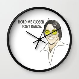 Hold Me Closer Wall Clock
