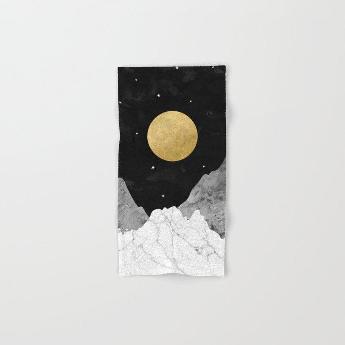 Moon and Stars Hand & Bath Towel
