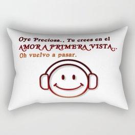 AMOR A PRIMERA VISTA Rectangular Pillow