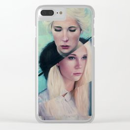 Broken Point Clear iPhone Case