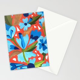 Floral Folk  Stationery Cards