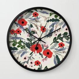 Modern Flower Wall Clock