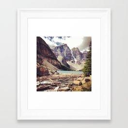 Crystal Clear Framed Art Print