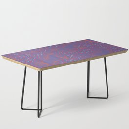 Wild Horses by Friztin - Ultra Violet Coffee Table