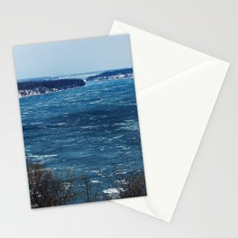Endless Blue Stationery Cards