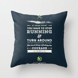 Katniss Everdeen  Throw Pillow