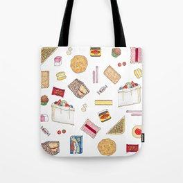 Australiana Foods Tote Bag