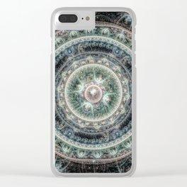 Julian Mandala Clear iPhone Case