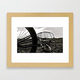 Praire Basket Framed Art Print