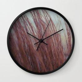 warming winter Wall Clock