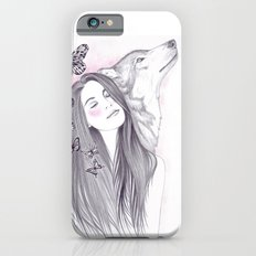 Wolf To The Moon Slim Case iPhone 6s