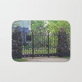 Old West End Edward D Libbey House's Gate I Bath Mat