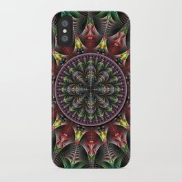 Super Star, fractal abstract iPhone Case