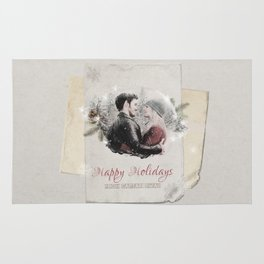 OUAT HAPPY HOLIDAYS // Captain Swan Rug