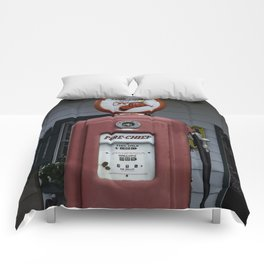 Fire Chief Gas Pump Comforters