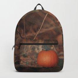 Forest Pumpkin Backpack
