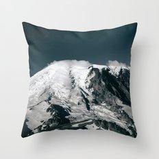 Mount Rainier V Throw Pillow