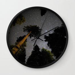 Sister Night Sky Wall Clock