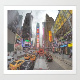 Times Square - New York City Art Print