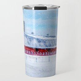 A Snowy Day Travel Mug