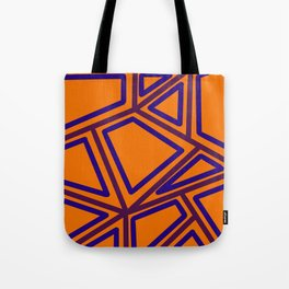 In Town - Yellowed Orange Tote Bag